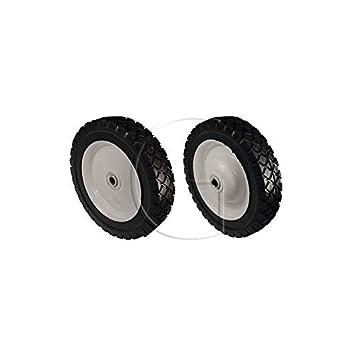 Rueda para cortacésped universal 178 mm de diámetro: Amazon.es: Bricolaje y herramientas