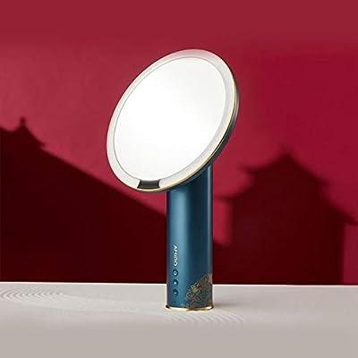 chenruihua Espejo de Maquillaje Luz Solar Caja de Maquillaje ...