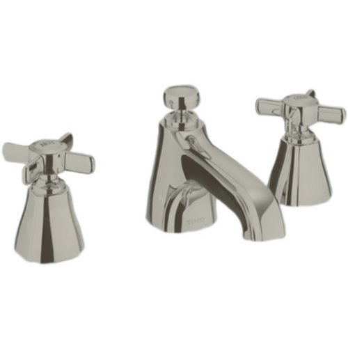Toto TL970DDLQ#BN 1.5 GPM Guinevere Widespread Lavatory Faucet, Brushed Nickel by TOTO (Image #1)
