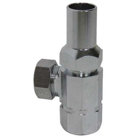 Loose Key Supply Stop, Brass, FIP Inlet ()