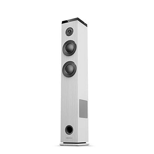 Energy Sistem Tower 5 g2 ivory (65 W, Bluetooth 5.0, True Wireless Stereo, FM-radio, USB/MicroSD MP3-speler, Audio-In…