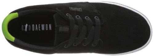 DVS APPAREL - Zapatillas de deporte de cuero para hombre Negro (Noir (Black Poster Suede))