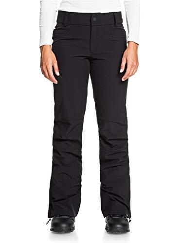 Roxy Creek Short-Pantalon de Snow/Ski pour Femme, True Black, FR : M (Taille Fabricant : M)