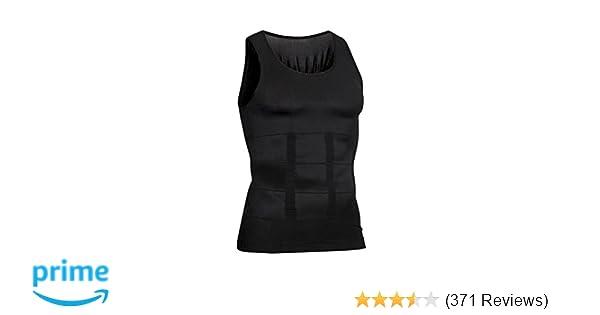 48c60edbf1 Amazon.com   Hoter Mens Body Shaper Slimming Vest