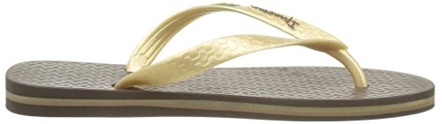 Classica Marron Brasil Femme II Ipanema Gold Brown Tongs AUxnUR