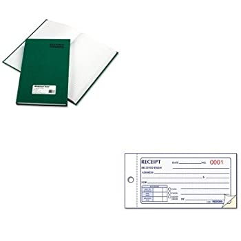 KITRED56131RED8L820 - Value Kit - National Emerald Series Account Book (RED56131) and Rediform Small Money Receipt Book (RED8L820)