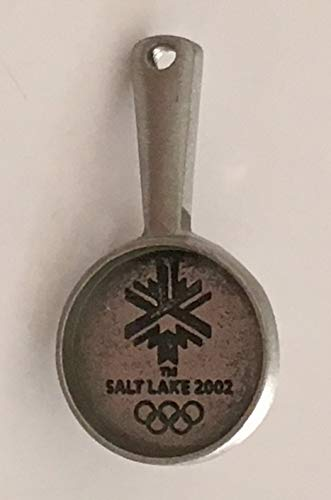 2002 Salt Lake City Winter Olympics Pewter Skillet Pin
