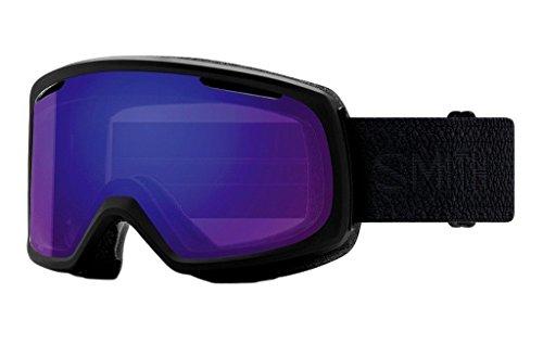 Smith Optics Riot Asian Fit Goggle - Women's Black Mosaic Frame/ChromaPop Everyday Violet Mirror/Yellow (Riot Ski)