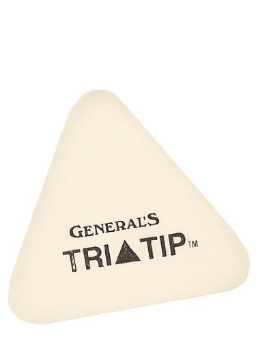 General's Tri-Tip eraser [PACK OF 24 ] by General's