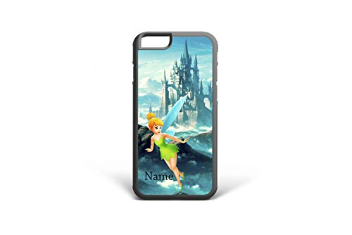 (Koldan Custom phone case Disney castle Tinker Bell iPhone 7 X XR XS iPhone XS Max 8 Plus iPhone 8 6S Plus 5S SE iPhone 6 6S 7 Plus Samsung S8 S9 Note 9 S9 Plus S8 Plus S6 S7 Edge Samsung Note 8 3DDL12)