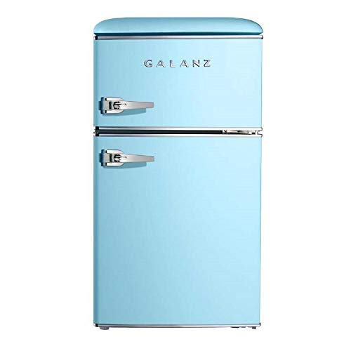 Galanz 3.1 cu ft Light Blue Retro Mini Fridge for sale  Delivered anywhere in USA
