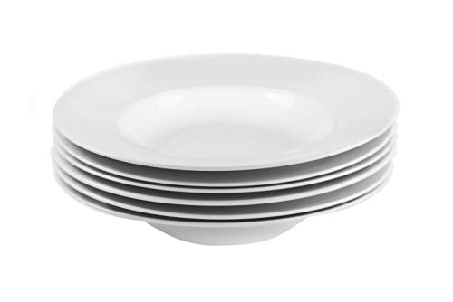 Rimmed Pasta Plate - 1
