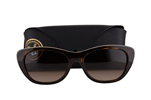 Ray Ban RB4227 Sunglasses Light Havana w/Brown Gradient Lens 71013 RB ()