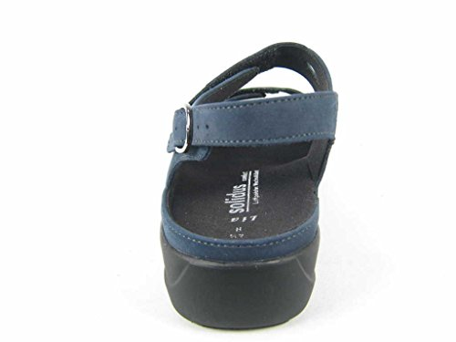 Solidus pour 7309480042 Bleu Sandales femme aaOSr