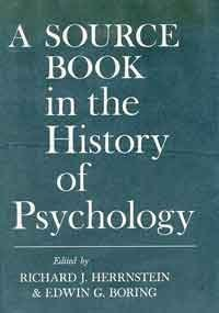 Book cover from A Source Book in the History of Psychology (Source Books in the History of the Sciences) by Charles Murray Richard J. Herrnstein