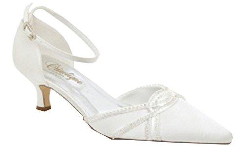 CRINOLIGNE White Size Shoes One Women's Ivory white Court UwaxOfU