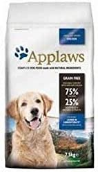 Applaws Dry Dog Food All Breed - Pollo ligero para adultos (7,5 kg, 2 unidades)