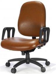 Rfm Metro Series 500 Lb Capacity Heavy Duty Ergonomic Computer Chairs Kitchen