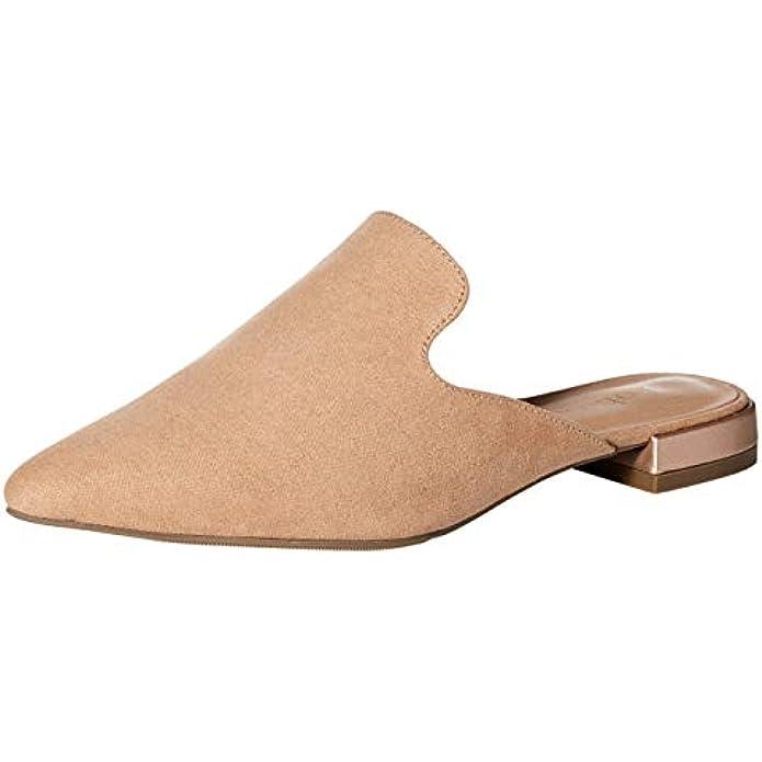 Rohb by Joyce Azria Maison, Soho & Jolie Pointed Toe Flat Backless Slip On Slide Mules for Women