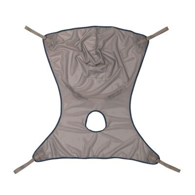 (Invacare 2451097 Comfort Sling with Commode Opening, Small, Net)