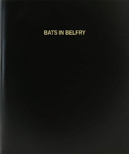 BookFactory Bats In Belfry Log Book / Journal / Logbook - 120 Page, 8.5