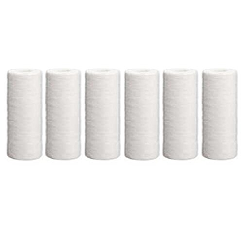 Hydronix SDC-45-1005 Sediment Polypropylene Water Filter Cartridge 6 Pack