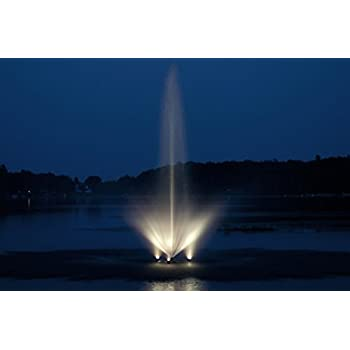 Amazon Com Pond Boss Dftn12003l Floating Fountain With