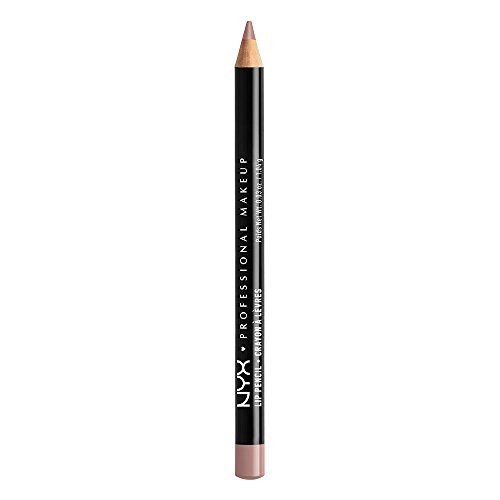 NYX PROFESSIONAL MAKEUP Slim Lip Pencil, Mauve, 0.04 Ounce