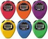 Ultrak 310 Event Timer Sport Stopwatch (Set of 6 Rainbow Colors)