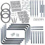 Cimarron Sports CM-7042CFKAS225 Cimarron 70 x 14 x 12 Deluxe Commercial Frame Kit by Cimarron Sports