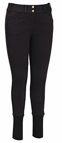 TuffRider Ladies Fleece-Lined Breech 30 Black Tuffrider Fleece