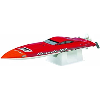 AquaCraft Models Revolt 30 Ready-to-Run Brushless Fast Electric Mono Hull Radio-Control Racing Boat