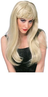 Rubie's Costume Glamour Wig, Blonde, One Size
