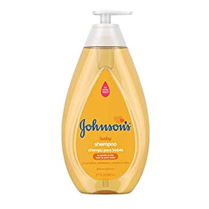 Johnson's Baby Shampoo with Tear-Free Formula, Shampoo for Baby's Delicate Scalp & Skin Gently Washes Away Dirt & Germs…