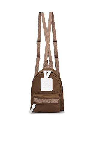 Mini Backpack For Women, Men, Toddlers, Boys and Girls; Popular as a Purse, Diaper Bag, Miniature IPad or Daypack (Dark Brown)