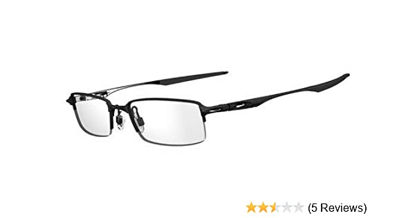 7bf2bd7414 Amazon.com  Oakley OX3119-01 Halfshock Eyeglasses-Satin Black-55mm  Clothing