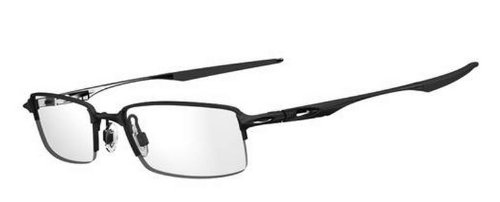 219d746a6f Image Unavailable. Image not available for. Color  Oakley OX3119-01 Halfshock  Eyeglasses-Satin Black-55mm