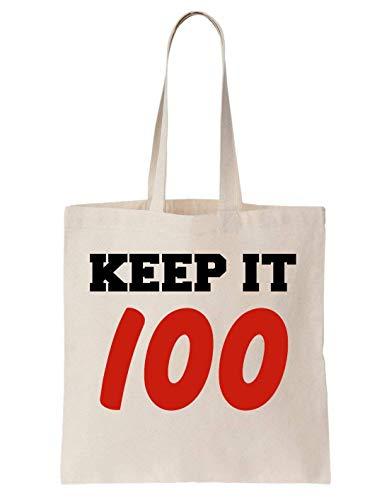 Bag 100 Sac It Coton En Keep nSRcWHR