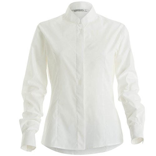 Kit mandarin Chemisier Blanc ajust Kustom Femme col napCc7wOdq