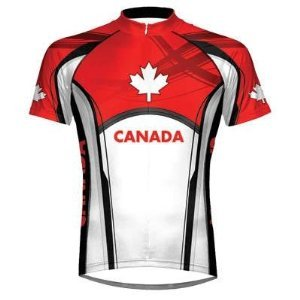 Canada Cycling Jersey by Primal Wear Wear Men's XXXL 3X 3XL