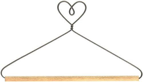 - Ackfeld 6in Heart with Stained Dowel Hanger, 6