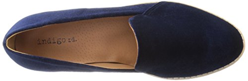 Flat Hani Blue Dark Indigo Women's Rd Loafer wFqSRSv