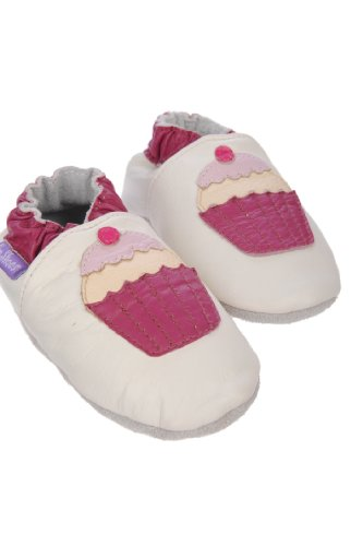 Pre Shoes Soft Leather Baby Shoes Cup Cakes (0 - 6 Months)