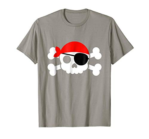 Jolly Roger Pirate T-Shirt Cute Pirate Halloween