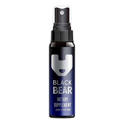 Black Bear Energy Spray (Hydroxy & ADENOSYL B12) Vitamin B-12 Spray 25mL