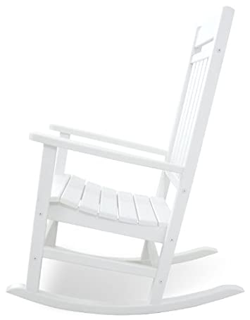 Ivy Terrace IVR100WH Classics Rocker Chair, White