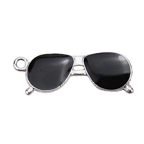 - Monrocco 20pcs Sunglasses Charms Pendants for Jewelry Making Bracelets DIY