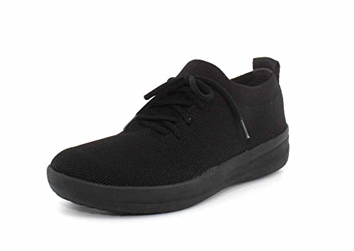 FitFlop F-Sporty Uberknit Sneakers All Black