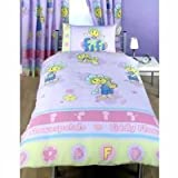 Fifi & the Flowertots Twin Girl Room Duvet Lilac/pink