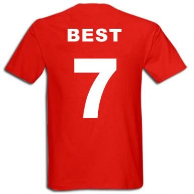 new style 40ce2 5c03a George Best T-Shirt